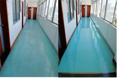各类地板(花岗岩、云石、大理石、水磨石、木地板、PVC、地毯)等清洁打蜡、晶面处理、翻新工程